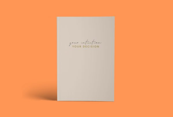 """Journal """"your intuition, your decision"""""""